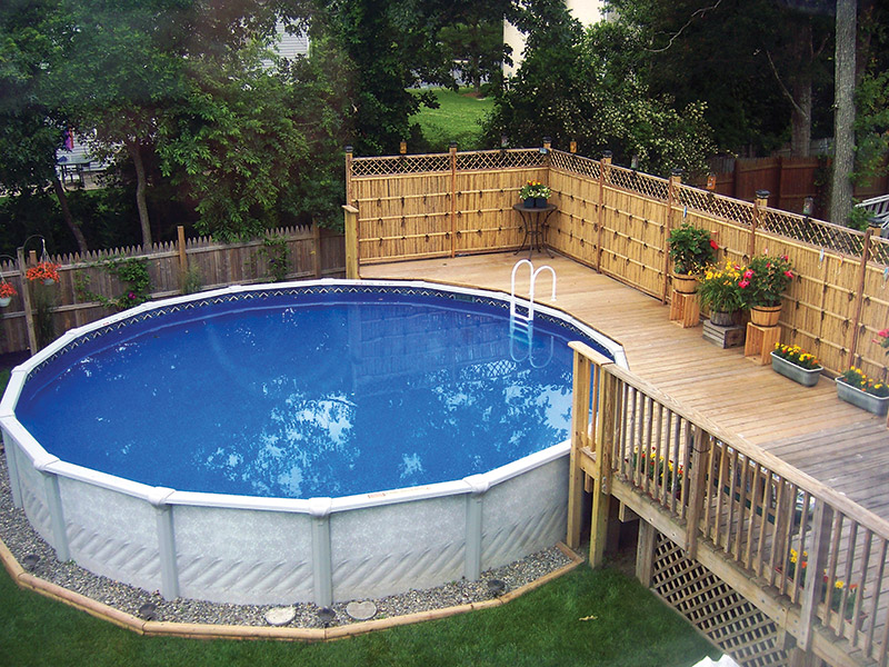 above ground pools | The Best Tips and Advice for Pool Design and ...